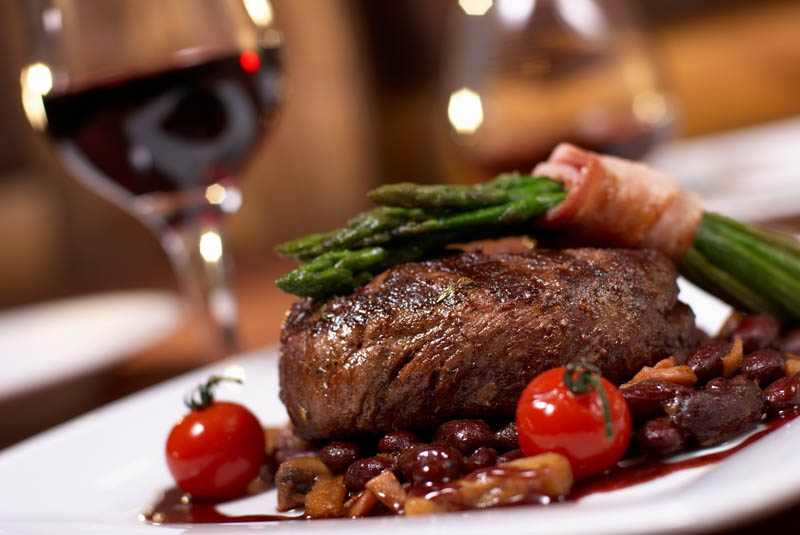 Our ever-changing menu features everything from upscale selections to comfort food favorites.