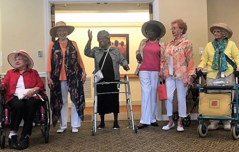 Fashion Week at St. Andrew's Village