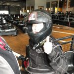 Marlene is ready to put the pedal to the metal!